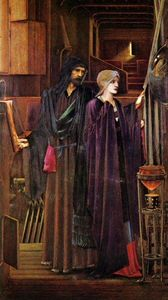 Edward Coley Burne-Jones - El Mago
