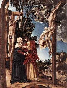 Lucas Cranach The Elder - Crucifixión
