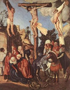 Lucas Cranach The Elder - La Crucifixión
