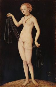 Lucas Cranach The Elder - Venus