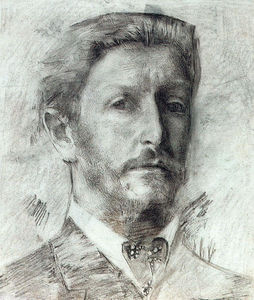 Mikhail Vrubel - Self-Portrait 3