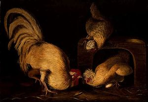 John James Audubon - Aves de corral