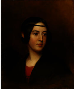 Thomas Sully - Retrato de Blanch Sully