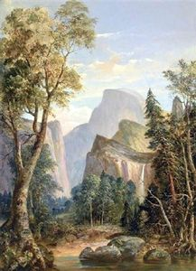 William Smith Jewett - Una vista de Yosemite