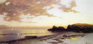 Alfred Thompson Bricher - Costa de Maine 1