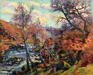 Jean Baptiste Armand Guillaumin - El Bouchardon Mill at Crozant