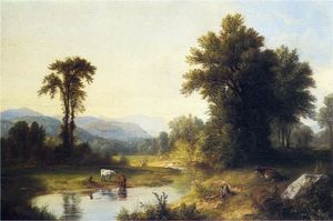 Asher Brown Durand - verano arroyo