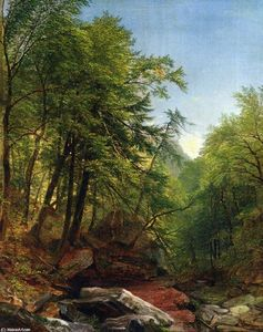 Asher Brown Durand - bosque el interior