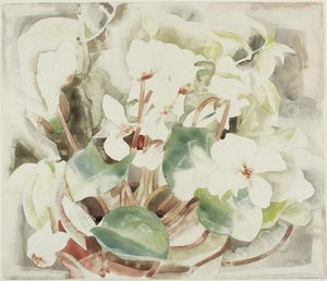 Charles Demuth - Flores (Cyclamen)