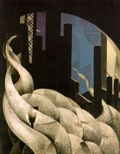 Charles Demuth - Incienso todaclasede  Un  NuevaGalesdelSur  iglesia