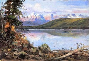 Charles Marion Russell - Lago McDonald