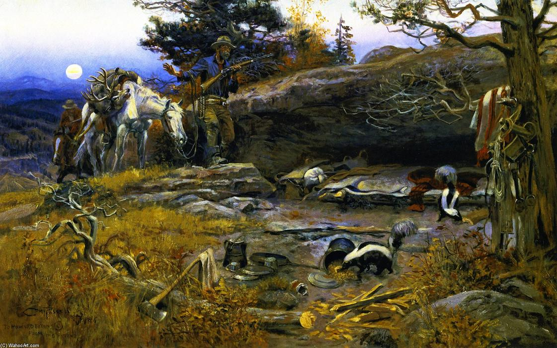 Marion (VA) United States  City pictures : ... sobre lienzo de Charles Marion Russell 1864 1926, United States