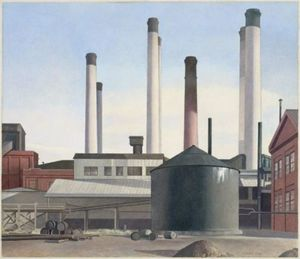 Charles Rettew Sheeler Junior - Fuga