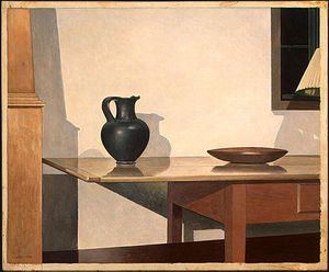 Charles Rettew Sheeler Junior - el interior 1
