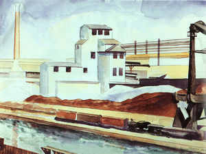 Charles Rettew Sheeler Junior - Río Colorete Industrial Cultivar