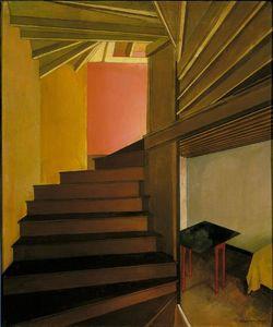 Charles Rettew Sheeler Junior - Escalera , Doylestown