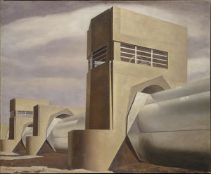 Charles Rettew Sheeler Junior - agua