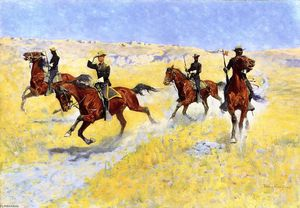 Frederic Remington - El avance