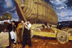 George Wesley Bellows - Constructores de Embarcaciones