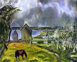 George Wesley Bellows - muerto orchard