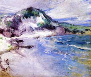 John Henry Twachtman - Playa en Squam