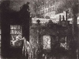 John Sloan - Noche de Windows