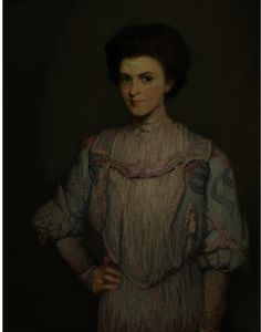 Julian Alden Weir - An American Girl