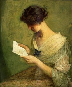 Julian Alden Weir - la carta