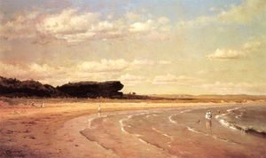 Thomas Worthington Whittredge - Segundo Beach, Newport