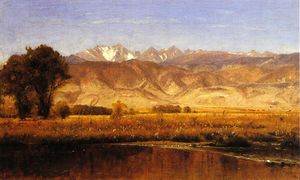 Thomas Worthington Whittredge - El Estribaciones