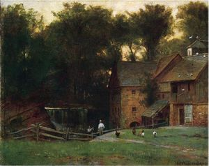 Thomas Worthington Whittredge - El Molino, Simsbury, Connecticut.