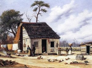 William Aiken Walker - Junta y Batten del Norte Carolina del Sur Cabin
