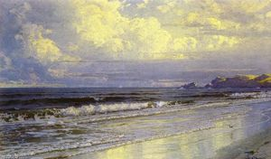 William Trost Richards - Segunda Playa, Neweport