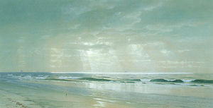William Trost Richards - Olas