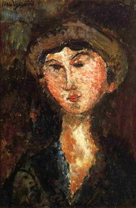 Amedeo Modigliani - beatrice hastings 1