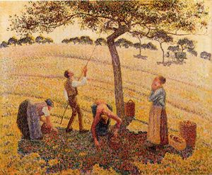 Camille Pissarro - De Apple Pickers, Eragny