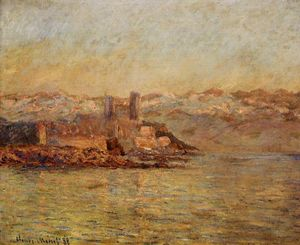 Claude Monet - Antibes y los Alpes Marítimos