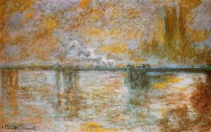 Claude Monet - Puente de Charing Cross 1