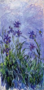 Claude Monet - Lila iris