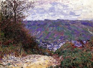 Claude Monet - camino en Giverny