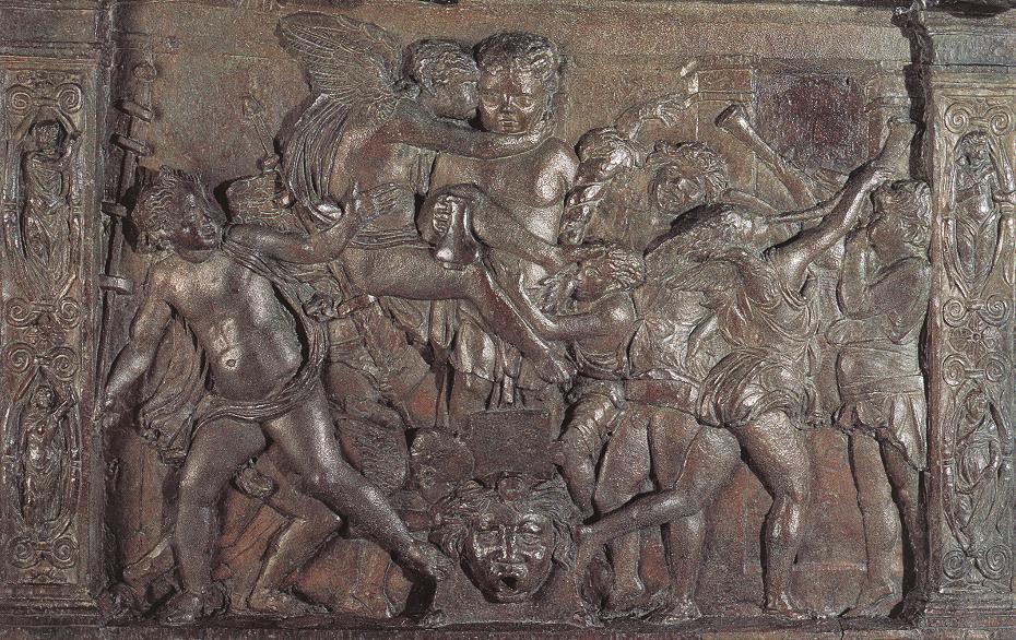 Judith y Holofernes  detalle, alivio de Donatello (1386 ...