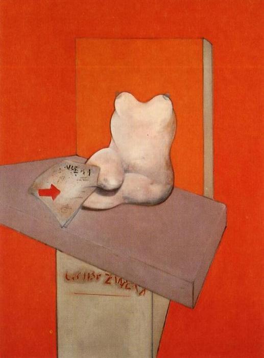 estudio de el cuerpo humano, aceite de Francis Bacon (1909-1992 ...