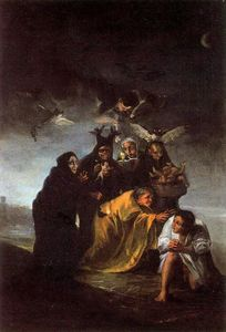 Francisco De Goya - Exorcismo