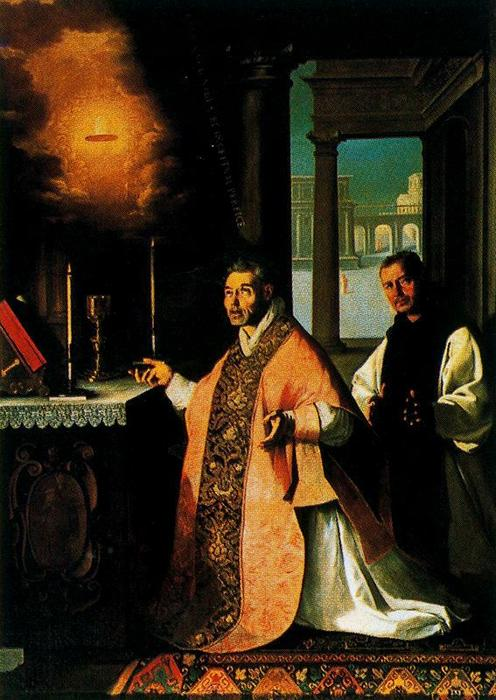 , óleo de Francisco Zurbaran (1598-1664, Spain)