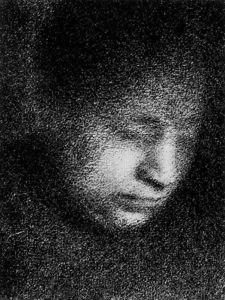 Georges Pierre Seurat - Madame Seurat Lectura