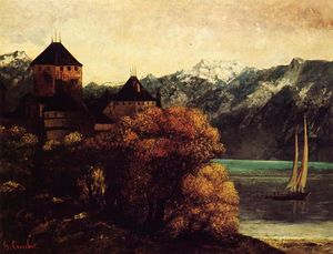 Gustave Courbet - El Castillo de Chillon