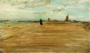 James Abbott Mcneill Whistler - escena de la playa 1