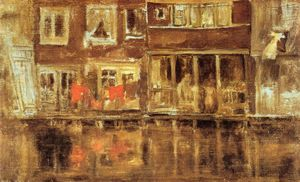 James Abbott Mcneill Whistler - el canal Ámsterdam