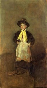 James Abbott Mcneill Whistler - The Girl Chelsea