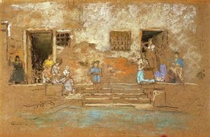 James Abbott Mcneill Whistler - Los Pasos